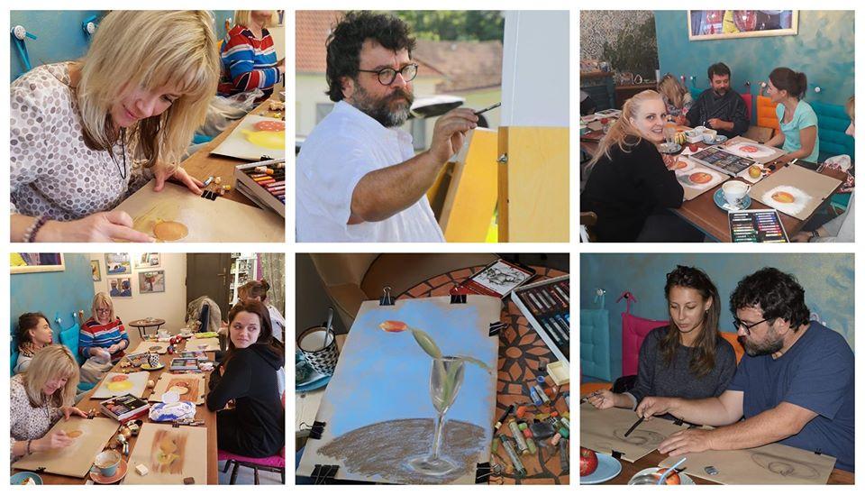 Kurz malování v Havaně
