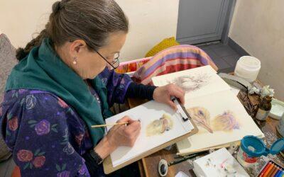 Páteční kurz malování Galerie Café